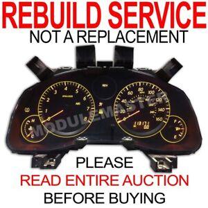 Rebuild Repair for 05 06 07 08 Infiniti Infinity G35 G35x Cluster