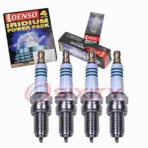 4 pc Denso Iridium Power Spark Plugs for 2012-2016 Fiat 500 1.4L L4 Ignition ah