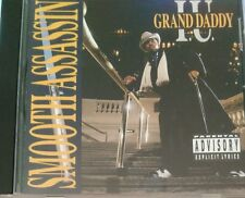 Smooth Assassin by Grand Daddy I.U. (CD, Oct-1990, Cold Chillin') rare OG Press