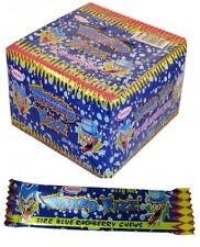 Bulk Lollies 60 x Blue Raspberry Wicked Fizz Chews Party Favours Sweets Candy