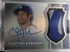 2017 Clayton Kershaw Topps Dynasty Patch Auto #/10 Dodgers Sick $ Nasty Gem