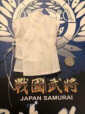 I modelli Coo Japan Samurai dati Masamune CAMICIA BIANCA SCALA 1/6th Loose