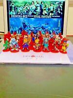 Final Fantasy CocaCola Promo Miniature Figure Normal 37pieces Full collaboration