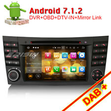 Android 7.1 Car Stereo Sat Nav Mercedes Benz E/CLS/G Class W211 W219 W463 BT DAB