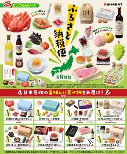 Re-Ment Miniature Hometown Tax Return Gifts Japan Foods Full set 8 pieces Rement
