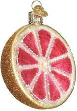 Old World Christmas 28117 Glass Blown Grapefruit Ornament