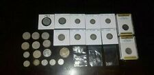 Canada U.S Mixed Silver Coin Collection Lot 1898 to 1967 Plus Silver Bars