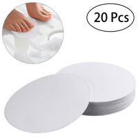 20pcs Bath Tub Anti-slip Discs Non Skid Adhesive Shower Stickers Safety Tape Mat