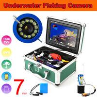 "Fishing Video Camera 7"" DVR Recorder 15/20/30/50M Underwater Fish Finder IP68"
