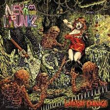 Nekro Drunkz - Lavatory Carnage CD 2016 filthy grindcore USA Moribund Records