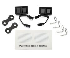 New Traxxas TRX-4 Ford Bronco side Mirrors black (2) 8073