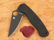 Spyderco Einhandmesser C81GPBK2 Para Military2