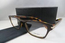 75b5358c888 Prada VPR 16S UBS-1O1 Brown Havana New Authentic Eyeglasses 54mm w Case