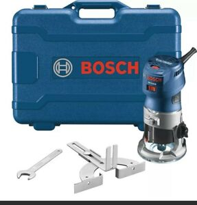Bosch GKF125CEK Colt 1.25 HP Max Variable-Speed Palm Router Kit (FACTORY SEALED)