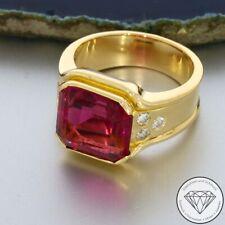 Wert 2.200,- Fabelhafter Turmalin 0,25 Ct Brillant Ring 750 / 18 Karat Gold xxyy