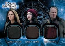 Thor Dark World DMT-5 Costume Memorabilia Card Jane Foster, Darcy Lewis & Erik