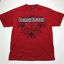 Official Red Death Clutch T-shirt  Short Sleeve Sz Large