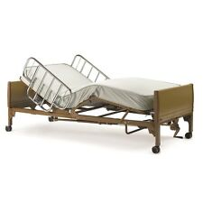 HOSPITAL BED by Invacare | Semi-Electric Bed + FREE Mattress, Rail Set for Home