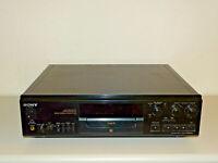Sony MDS-JA555ES High-End MiniDisc Recorder, Laser & Riemen neu, 2J. Garantie