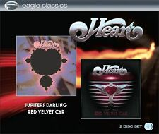 Heart ‎– Jupiters Darling / Red Velvet Car     New 2- cd in seal