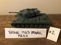 Marx Battleground Desert Fox WWII Toy Soldier Playset Vintage 1960s #51 Tanks