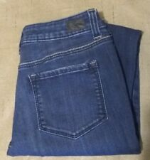 RSQ Miami Frayed Ankle Skinny Leg Jeans Juniors Size 5 Casual