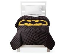 Batman Microfiber Twin Comforter Reversible NEW