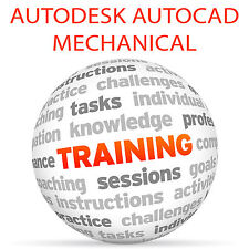 Autodesk AutoCAD Mechanical-Video formazione tutorial DVD