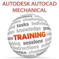 Autodesk AUTOCAD MECHANICAL - Video Training Tutorial DVD