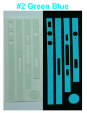 iPhone 4S - Matte Glow in the Dark Edge Wrap Skin Sticker - Choice of 6 Colours