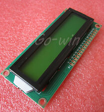 1602 16x2 Character LCD Display Module HD44780 Controller Yellow Blacklight