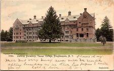 Lathrop Dormitory, Vassar College, Poughkeepsie NY UDB Vintage Postcard L10