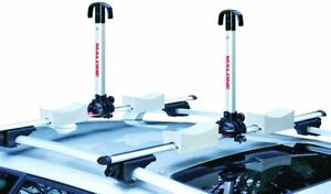 New Malone Stax Pro2 Universal Car Rack Folding Kayak Carrier (2 Boat Carrier)