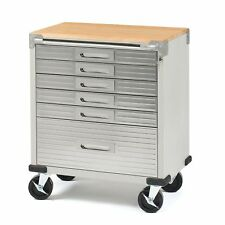 Seville Classics UltraHD Rolling 6-Drawer Tool Storage Cabinet Key Lock No Tax
