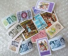 Stamp- GB stamp / a collection of GB Stamps - lot of 14 (Used & Unused)