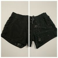 Women's LULULEMON Athletica Reversible Shorts Black Size 4?