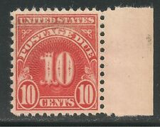United States #J84 (D3) VF MNH - 1931 10c Postage Due - Rotary Press Printing