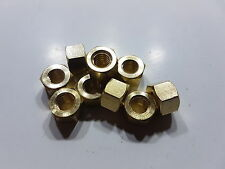 BRASS EXHAUST MANIFOLD NUTS CROSSFLOW XFLOW MK1 MK2 FORD ESCORT CORTINA ANGLIA
