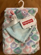 Fisher Price  Receiving And Cuddle blanket