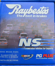 BRAND NEW RAYBESTOS FRONT BRAKE PADS PGD334M / D334 FITS VEHICLES ON CHART