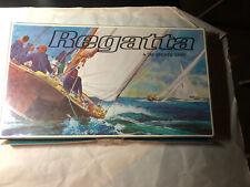 Regatta 3M Board Game Vintage 1967 Yacht Race Fun Retro Sailing Complete