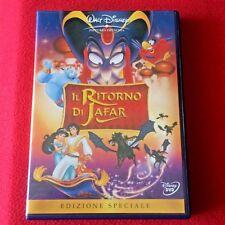 IL RITORNO DI JAFAR Walt Disney dvd Italiano x bambini cartoni animati