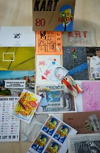 KART 80 (Mail Art, FLUXUS ,Visual Poetry,DADA, Zine in a box)