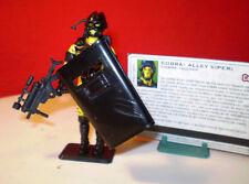 1993 GI JOE COBRA URBAN ALLEY VIPER TROOPER ARMY BUILDER + FILE CARD ARAH ENEMY