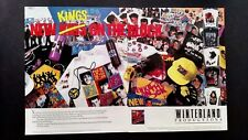"New Kids On The Block "" New Kings"" (1990) Rare Original Print Promo Poster Ad"