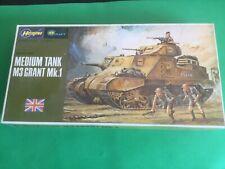 Hasegawa Medium Tank M3 Grant Mk.1 Mini Box 5 Model Kit 1/72 #MB-005 SEALED KIT