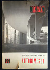 Bassi Berlanda Boschetti AUTORIMESSE DOCUMENTI DI ARCHITETTURA 29 Vallardi1959