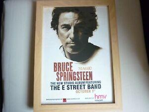 "Bruce Springsteen, ""Magic""  2007 Album release flyer from magazine"