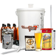 Complete Home Brew Making Starter Kit Pack 40 Pint WITH COOPERS DRAUGHT BEER