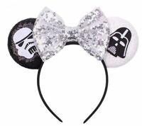 Disney Star Wars Hollywood Studios Galaxys Edge Mickey Minnie Ears Headband Bow